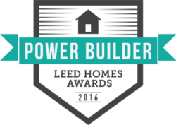 Award for Power Builder LEED Homes